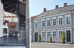 Townhouse i Simrishamn – tidstypsikt renoverat i lantlig sekelskiftesstil