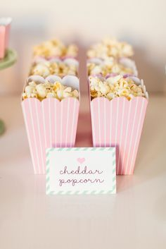 Popcorn in pink popcorn boxes // Ballerina Party Ideas Soirée Pyjama Party, Pyjamas Party, Pj Party, Sleepover Party, Slumber Parties, Party Time, Ballerina Party, Ballerina Birthday Parties, Flamingo Party