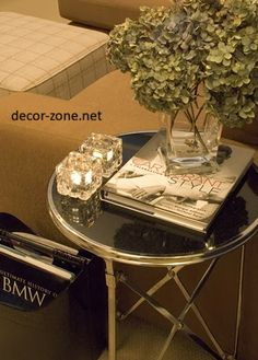 Small Coffee Table Decorating Ideas Diy End Tables Side