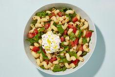 Cavatappi with Tomatoes, Arugula, and Ricotta