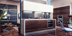 Kitchen visualizations by Happy Irena - http://www.homeadore.com/2012/07/31/kitchen-visualizations-happy-irena/
