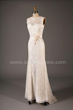 Robe de mariée 2015 - Robe poisson Haut Lace. Zora L Huppée