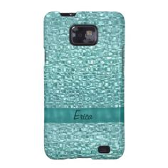 Turquoise Jewel Personalized Case-Mate Case Samsung Galaxy Covers