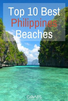 The Best Beaches In The Philippines | Guide To The Philippines Islands | Best Places To Go In Philippines | #philippinesbeaches #seasiatravel #itsmorefuninthephilippines