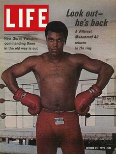 """Muhammad Ali, Boxing - Life Magazine, October 23, 1970 issue - Visit http://oldlifemagazines.com/the-1970s/1970/october-23-1970-life-magazine.html to purchase this issue of Life Magazine. Enter """"pinterest"""" at checkout for a 12% discount. - Muhammad Ali, Boxing"""