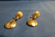 very nice screw on earrings vintage by TimesTwoBoutique on Etsy, $18.00