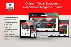 Tools Equipment Responsive Magento by CherryTheme.Com on Creative Market