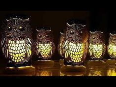 DIY Learn to make a pvc owl shaped lamp Pvc Pipe Crafts, Pvc Pipe Projects, Diy Crafts, Pvc Pool, Lampe Tube, Craft Show Booths, Owl, Pipe Lighting, Wedding Tattoos