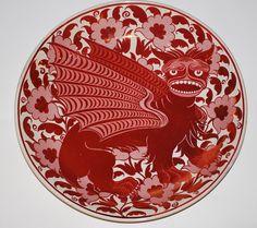 Plate design William de Morgan