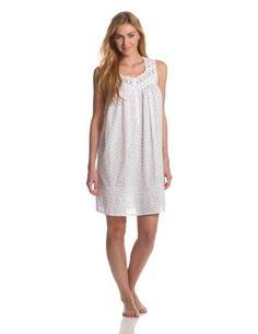 Eileen West Women's Beautiful Heart Short Nightgown « Clothing Impulse
