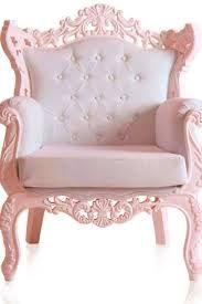 Resultado de imagem para poltrona de rainha rosa