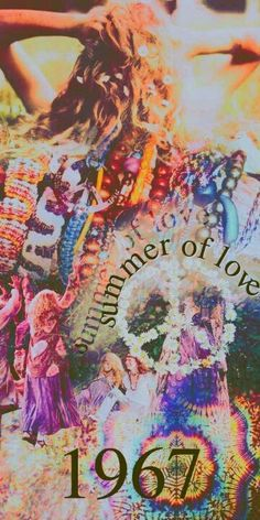 Flower power - shift from Swinging London to Hippy London