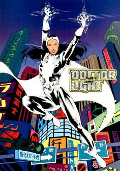 Power Item of the Day - Doctor Kimiyo Hoshi's ability to manipulate photonic energy powered by Oan genetic manipulation and used as a sometime member of the Justice League. Dc Comics Heroes, Dc Comics Art, Comics Girls, Justice League, Doctor Light, Teen Titans Starfire, Batman Y Superman, The New Teen Titans, New Earth