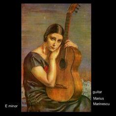 guitar Marius Marinescu 2021 Mona Lisa, Guitar, Music, Artwork, Painting, Musica, Musik, Work Of Art, Auguste Rodin Artwork