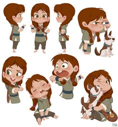 """ArtStation - Robin hood - Brat pack in Sherwood forest """"mandy"""", Hong SoonSang Brat Pack, Sherwood Forest, Simple Character, Character Creation, Kid Character, Character Modeling, Character Sheet, Character Drawing, Character Design Animation"""