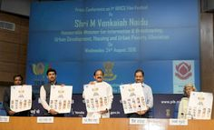 @InstaMag - Information and Broadcasting Minister M. Venkaiah Naidu on Wednesday unveiled the poster of the first BRICS Film Festival to be held here.