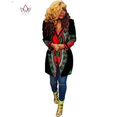 2016 New Summer African coat Dashiki Africa Clothing Traditional blouse Long Sleeve Fashion Design blazers BYWWY728