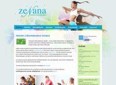 Naisten Liikuntakeskus Zenanan uudet kotisivut toteutettiin Kotisivukoneen Avaimet käteen -palvelun avulla.