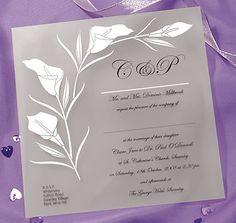 High Society Wedding Invitation from CelebrationsPlus.com