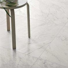 Klinker Coem Marmor B. Carrara, Hallway Flooring, Hallway Inspiration, Tile Floor, Stool, Living Room, Interior, Marmi, Furniture