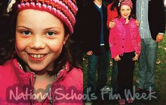 Georgie Henley oufit at the National School's Film Week in London, Great Britain on October 12, 2005.