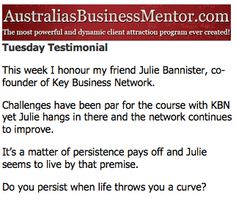 #juliebannister #referrals
