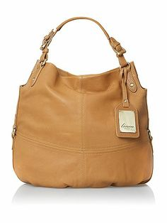 Linea Weekend Olive Oversize Hobo Bag