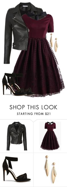 """""""Lace dress"""" by yohitslex ❤ liked on Polyvore featuring IRO, Alexandre Birman, Halogen and contestentry"""
