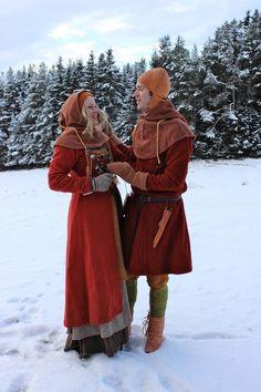 Viking couple - Lover their Wear    by Vikingsnitt -