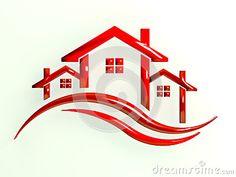 Real Estate Houses image logo