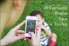 10 Camera Phone Tips & Tricks