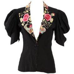 1930s vintage blouse