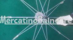 OMBRELLONE ALL. PEZZI 47 EURO 40.00 CAD. - Mercatino Balneare ombrellone all. 100/10 stecche oro con collano a fusione, palo acciaio del 38 u/verde, prezzo cadauno iva esclusa Quantità:47 Prezzo €40.00+iva  https://www.mercatinobalneare.it/annuncio/ombrellone-all-pezzi-47-euro-40-00-cad-2/  #stabilimentobalneare #attrezzaturabalneare #attrezzaturabalneareusata #mercatinobalneare #attrezzaturabalnearenuova #annunciusato #lido #spiaggia #camping
