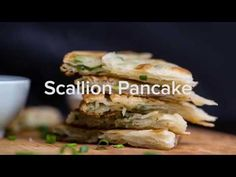 Shanghai Scallion Pancakes (Cong You Bing)   China Sichuan Food Scallion Pancakes Chinese, Pancake Calories, Asian Recipes, Ethnic Recipes, Food Decoration, Asian Cooking, Biscuit Recipe, Food Inspiration, Shanghai