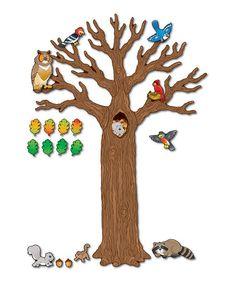 Look what I found on #zulily! Big Tree With Animals Set #zulilyfinds