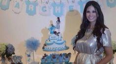 Sully Sáenz compartió fotos de su 'baby shower'