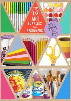 perfect start up list, from an art teacher