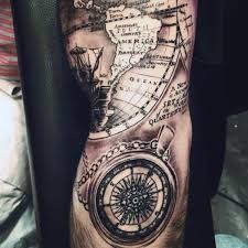 Image result for compass arm tattoo