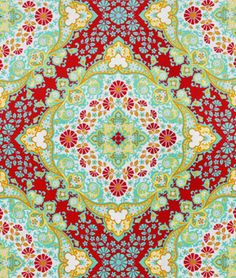 Joel Dewberry Kaleidoscope Poppy Fabric - $8.9 | onlinefabricstore.net    yes, please!