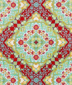 Joel Dewberry Kaleidoscope Poppy Fabric - $8.9 | onlinefabricstore.net