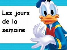 Les jours de la semaine-- song for learning the days of the week with lyrics French Days, Core French, French Teacher, Teaching French, Kindergarten Vocabulary, French Poems, French For Beginners, French Classroom, French Resources