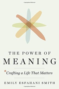 The Power of Meaning: Crafting a Life That Matters by Emi... https://www.amazon.com/dp/0553419994/ref=cm_sw_r_pi_dp_x_L9zDybGPXD8WQ