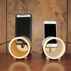 Acoustic iPhone Amplifier Speaker - Fits All Phones - iPhone, Samsung - Handmade Sony Mobile Phones, Best Mobile Phone, Best Phone, Sony Phone, Mobile Speaker, Wood Speaker, Speaker Amplifier, Wireless Speakers, Iphone Lightning Cable