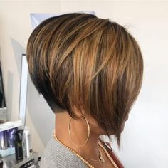 Short Hairstyles For Women Continue To Be The Trend In 2019 - . - short hairstyles for thick hair - Cheveux Short Bob With Undercut, Undercut Bob Haircut, Short Hairstyles For Thick Hair, Short Hair Cuts, Curly Hair Styles, Modern Undercut, Pixie Cuts, Hairstyles With Undercut, Cuts For Thick Hair