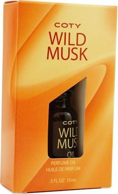 Coty Wild Musk By Coty For Women. Perfume Oil .5-Ounces $284
