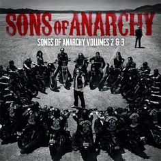 Sons of Anarchy: Songs of Anarchy Vol. 2 & 3, Seasons 5-6 180g 2LP Clear Vinyl