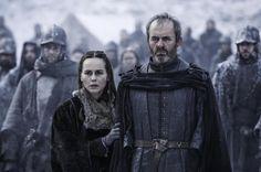 # QUEEN SELYSE & KING STANNIS BARATHEON WATCH THEIR DAUGHTER SHIREEN BURN