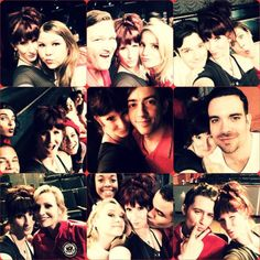 brooke_lipton: Final number! Final selfies! Love you all with all my heart. #glee