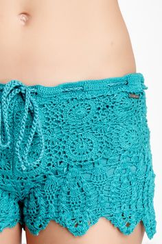 Element Eden Mika Crochet Short on HauteLook...cute
