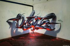 Mind-blowing Floating Graffiti Art by Odeith